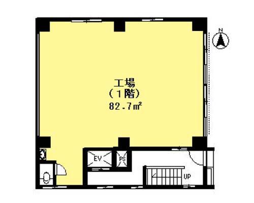 墨田区 都営浅草線本所吾妻橋駅の貸事務所画像(1)