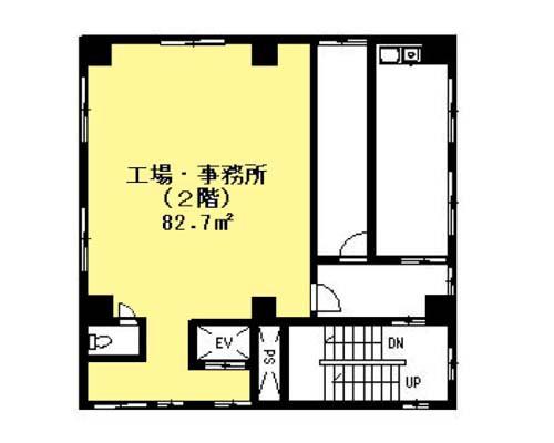 墨田区 都営浅草線本所吾妻橋駅の貸事務所画像(2)