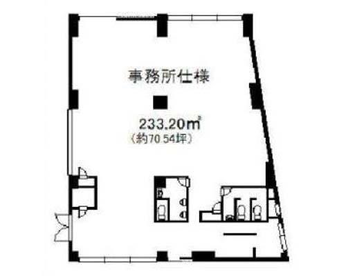 足立区 JR常磐線北千住駅の貸事務所画像(1)