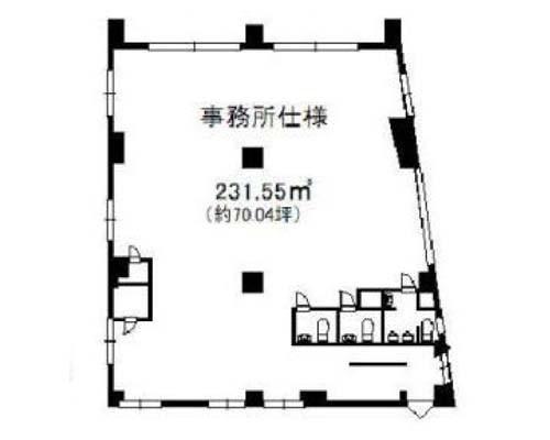 足立区 JR常磐線北千住駅の貸事務所画像(2)