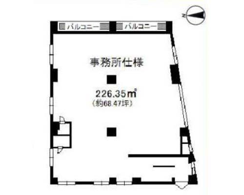 足立区 JR常磐線北千住駅の貸事務所画像(3)