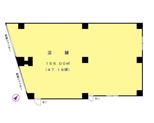 清瀬市 西武池袋線清瀬駅の貸店舗画像(1)
