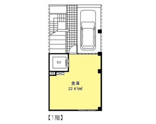 府中市 京王線府中駅の貸倉庫画像(1)