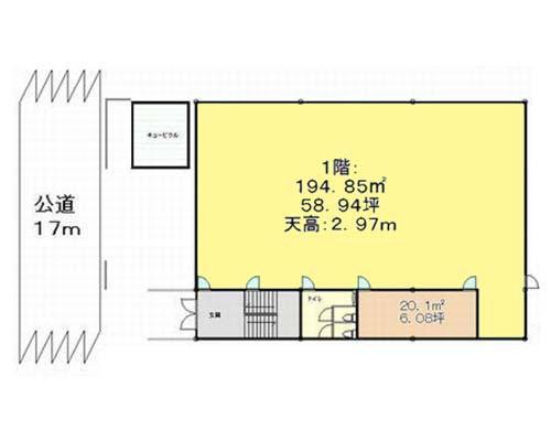 江東区 東西線木場駅の貸工場・貸倉庫画像(1)