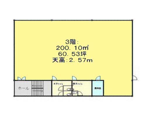 江東区 東西線木場駅の貸工場・貸倉庫画像(3)