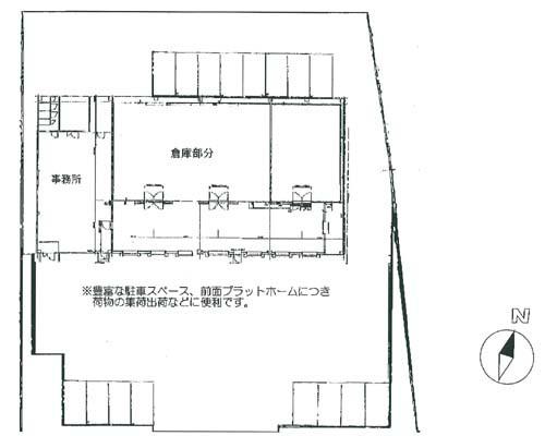 東久留米市 西武池袋線東久留米駅の貸倉庫画像(1)