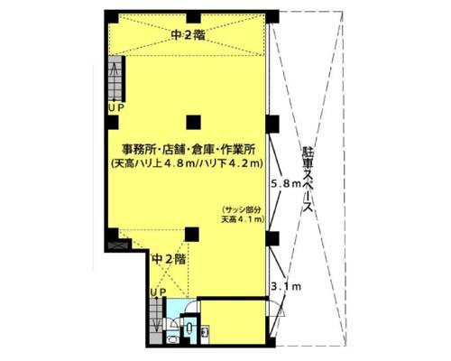 新宿区 東西線早稲田駅の貸倉庫画像(1)