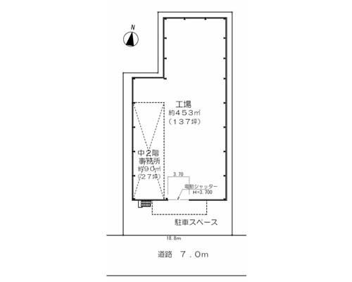 足立区 つくばエクスプレス八潮駅の貸倉庫画像(1)