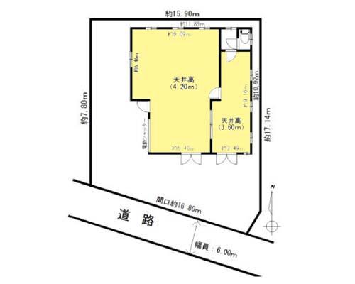 武蔵村山市 西武拝島線武蔵砂川駅の貸倉庫画像(1)