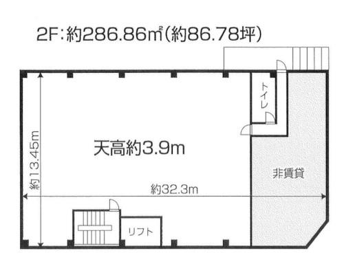 北区 JR埼京線赤羽駅の貸工場・貸倉庫画像(2)