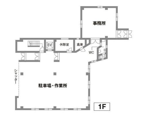 台東区 日比谷線南千住駅の貸倉庫画像(1)