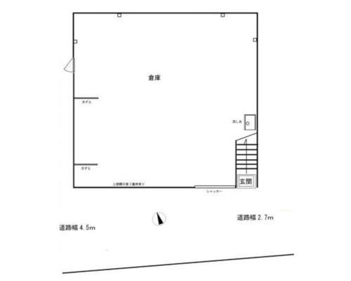 文京区 都営三田線春日駅の貸倉庫画像(1)