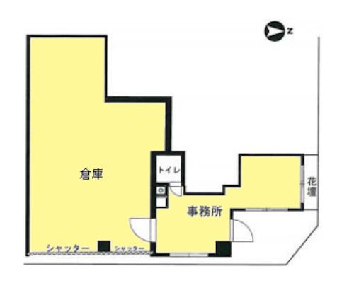 港区 都営大江戸線赤羽橋駅の貸倉庫画像(1)