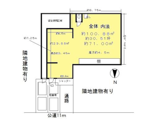 墨田区 JR総武線錦糸町駅の貸倉庫画像(1)