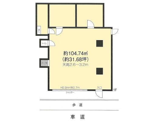 北区 JR山手線田端駅の貸倉庫画像(1)