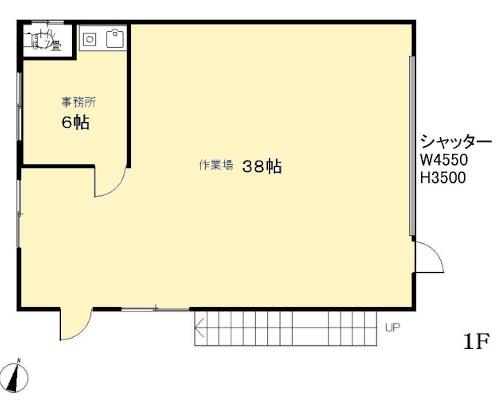 江戸川区 都営新宿線瑞江駅の貸工場・貸倉庫画像(1)