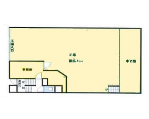 板橋区 東武東上線東武練馬駅の貸工場・貸倉庫画像(1)