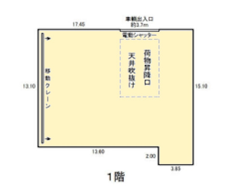 国立市 JR南武線谷保駅の貸倉庫画像(1)