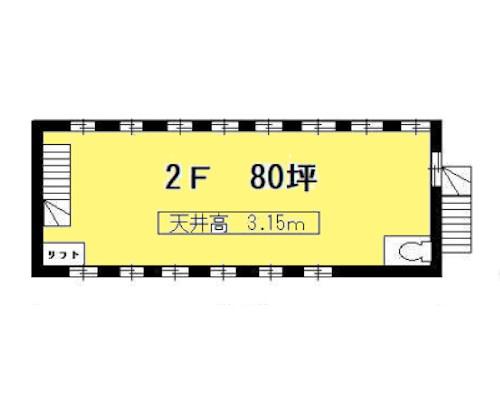 武蔵村山市 多摩都市モノレール上北台駅の貸倉庫画像(2)