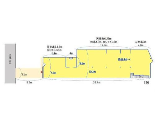 板橋区 東武東上線中板橋駅の貸倉庫画像(1)