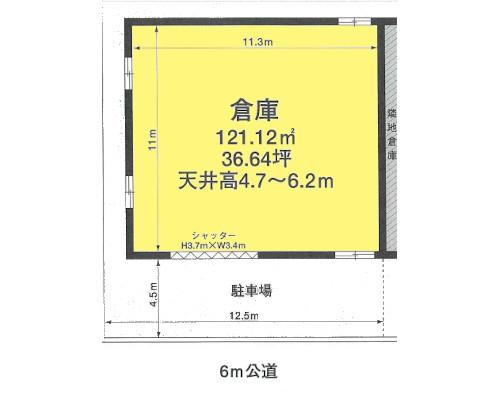 練馬区 都営大江戸線光が丘駅の貸倉庫画像(1)