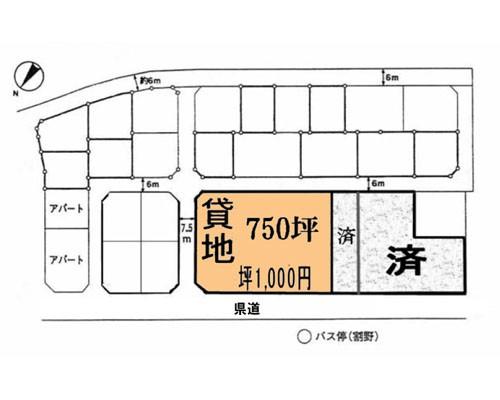印西市 北総鉄道千葉ニュータウン中央駅の貸地画像(1)