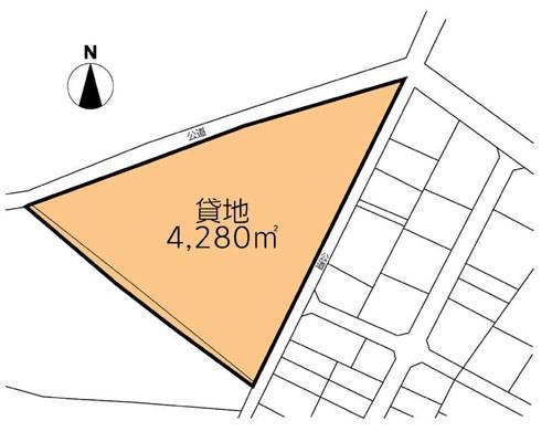 野田市 東武野田線梅郷駅の貸地画像(1)