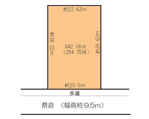 鎌ケ谷市 新京成電鉄線北初富駅の貸地画像(1)