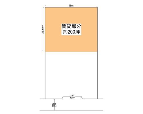 松戸市 北総鉄道秋山駅の貸地画像(1)