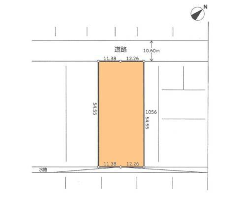 横浜市港北区 JR横浜線小机駅の貸地画像(1)