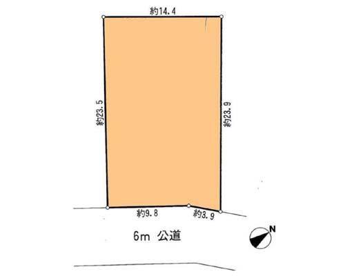 相模原市中央区 JR横浜線橋本駅の貸地画像(1)