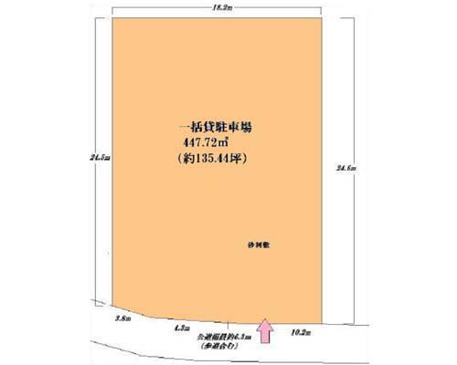 横浜市鶴見区 京浜東北線鶴見駅の貸地画像(1)