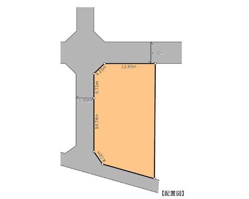 綾瀬市 小田急江ノ島線長後駅の貸地画像(1)