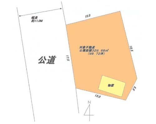 伊勢原市 小田急小田原線愛甲石田駅の貸地画像(1)