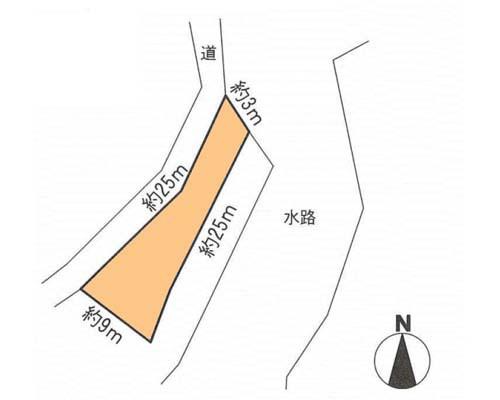 横浜市戸塚区 ブルーライン踊場駅の貸地画像(1)