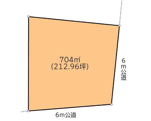 相模原市緑区 JR横浜線橋本駅の貸地画像(1)