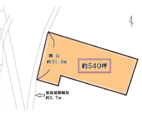 高座郡寒川町 JR相模線宮山駅の貸地画像(1)