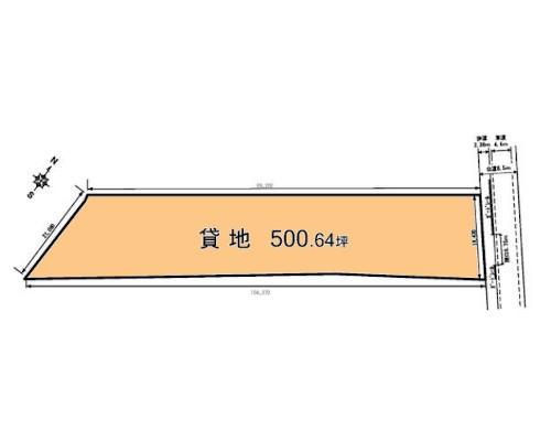 相模原市南区 JR相模線原当麻駅の貸地画像(1)