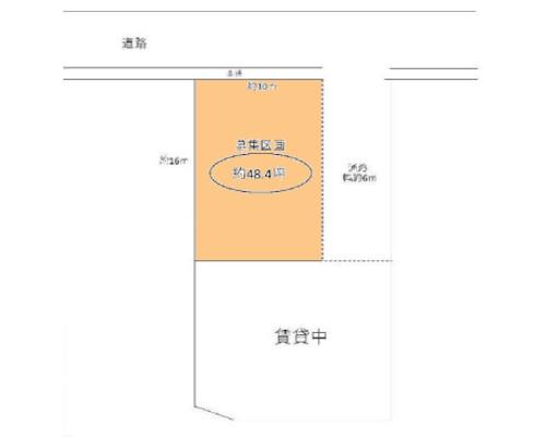 横浜市都筑区 ブルーライン仲町台駅の貸地画像(1)