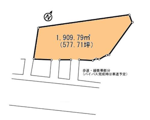 伊勢原市 小田急小田原線鶴巻温泉駅の貸地画像(1)