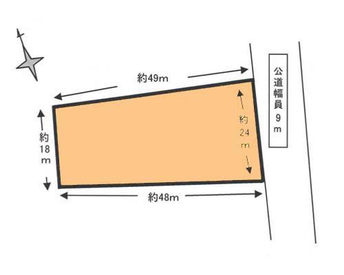 入間市 西武池袋線仏子駅の貸地画像(1)