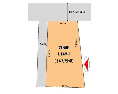 さいたま市見沼区 東武野田線七里駅の貸地画像(1)