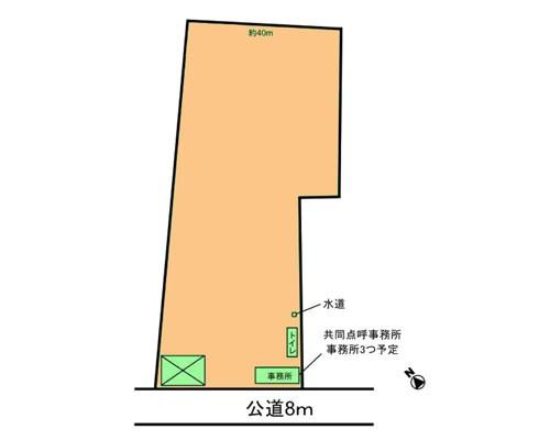 新座市 JR武蔵野線新座駅の貸地画像(1)