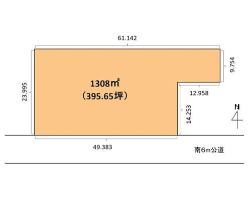 八潮市 つくばエクスプレス八潮駅の貸地画像(1)
