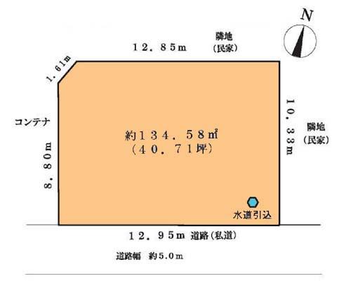 調布市 京王線西調布駅の貸地画像(1)