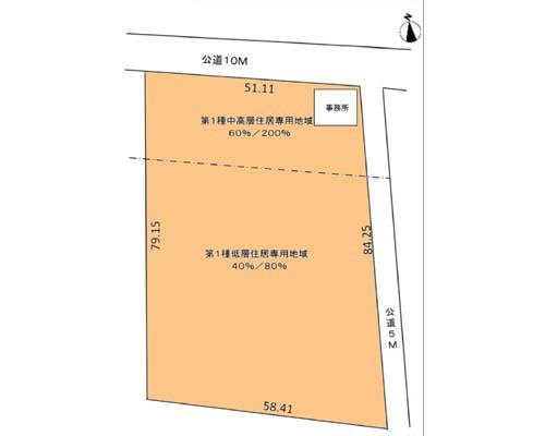 武蔵村山市 西武拝島線西武立川駅の貸地画像(1)