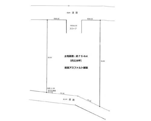 町田市 小田急小田原線町田駅の貸地画像(1)