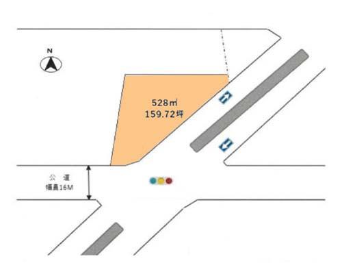 青梅市 JR青梅線小作駅の貸地画像(1)