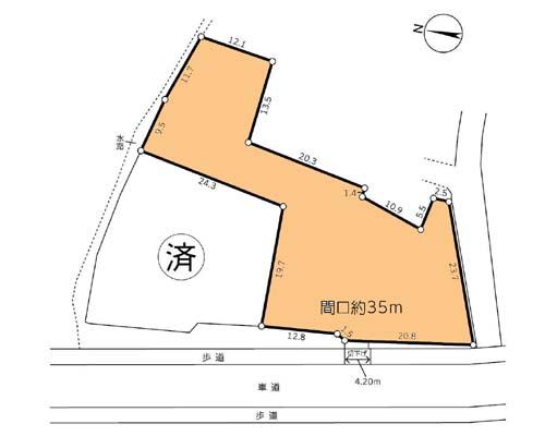町田市 小田急小田原線小田急多摩センター駅の貸地画像(1)