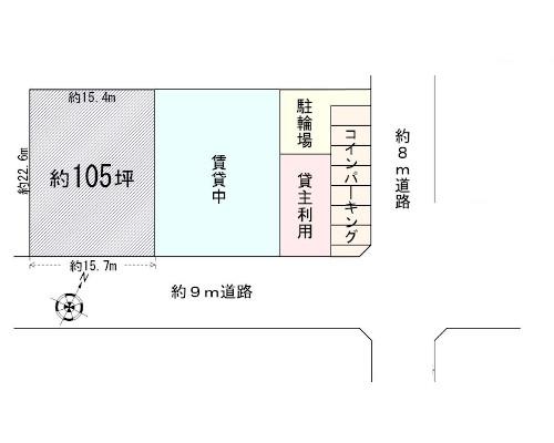 江戸川区 都営新宿線篠崎駅の貸地画像(1)